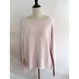 Lord & Taylor Size Lilac Knit Top Sweater